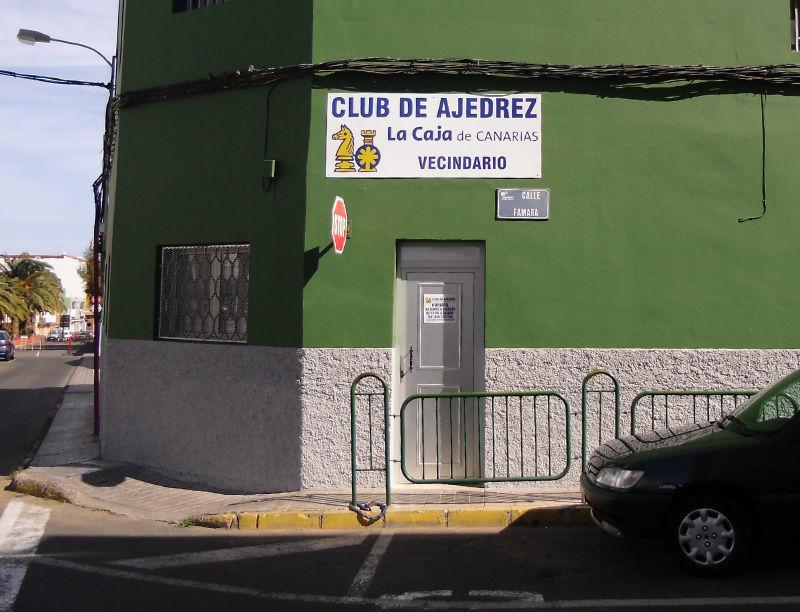 Asociación de Vecinos Ansite, local de juego