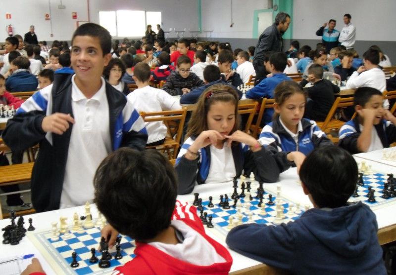Campeonato escolar por equipos de Santa Lucía