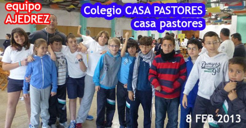 Colegio Casa Pastores 2013