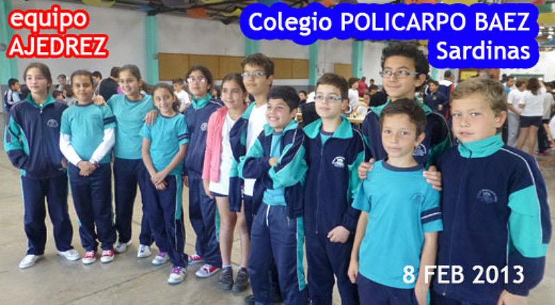 Colegio Policarpo Báez 2013