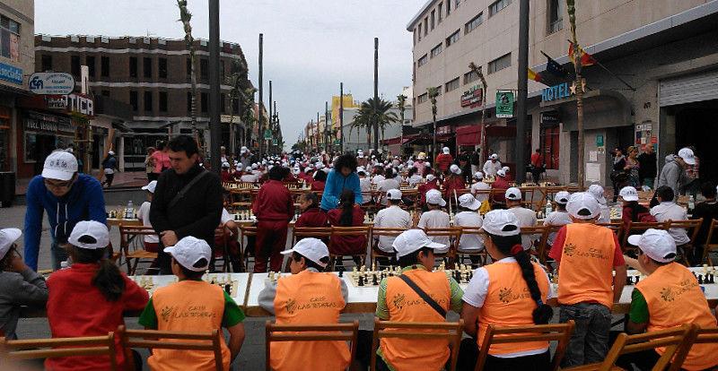 Simultánea en la Avenida de Canarias, Vecindario
