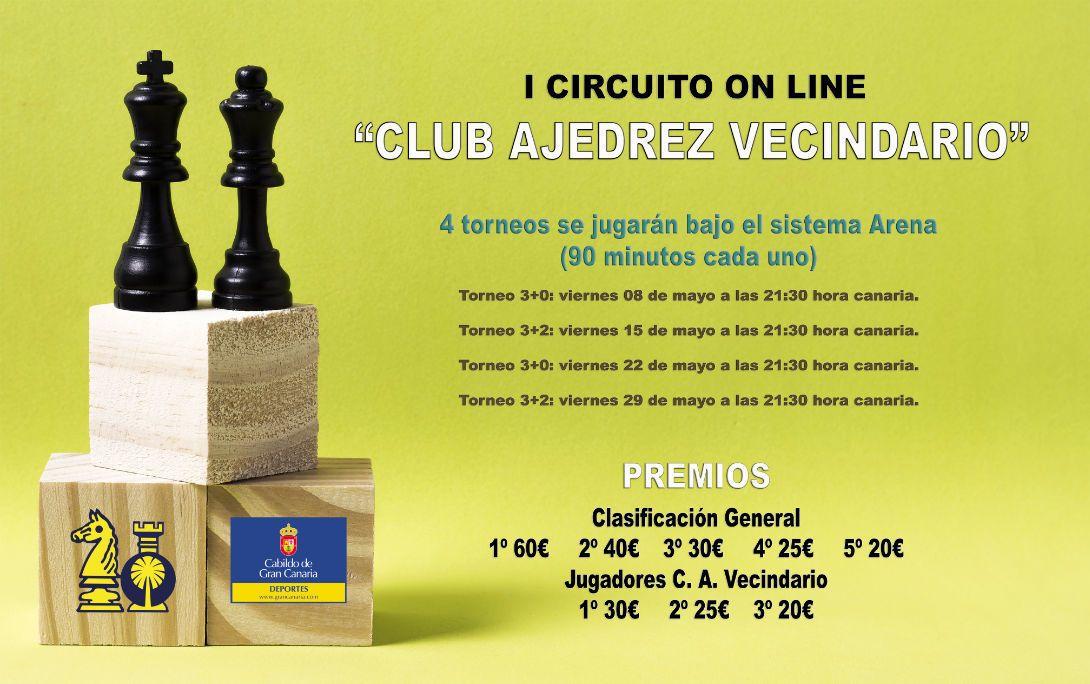 "BASES I CIRCUITO ON LINE ""CLUB AJEDREZ VECINDARIO"""