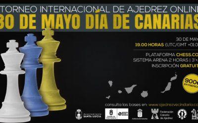"""I Torneo Internacional de Ajedrez Online """"30 de Mayo, Día de Canarias"""""""