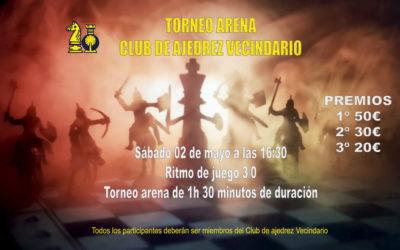 Torneo Arena Club de Ajedrez Vecindario