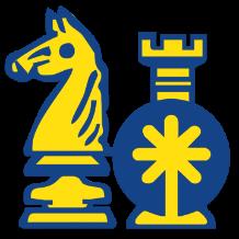 Logotipo Club Ajedrez Vecindario 128x162px