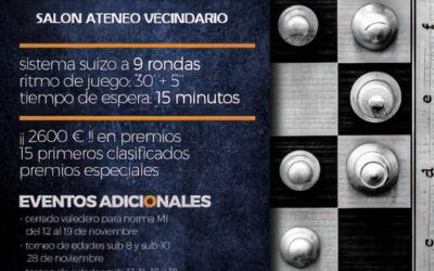 Torneo activo XIII Memorial Pedro Lezcano Montalvo