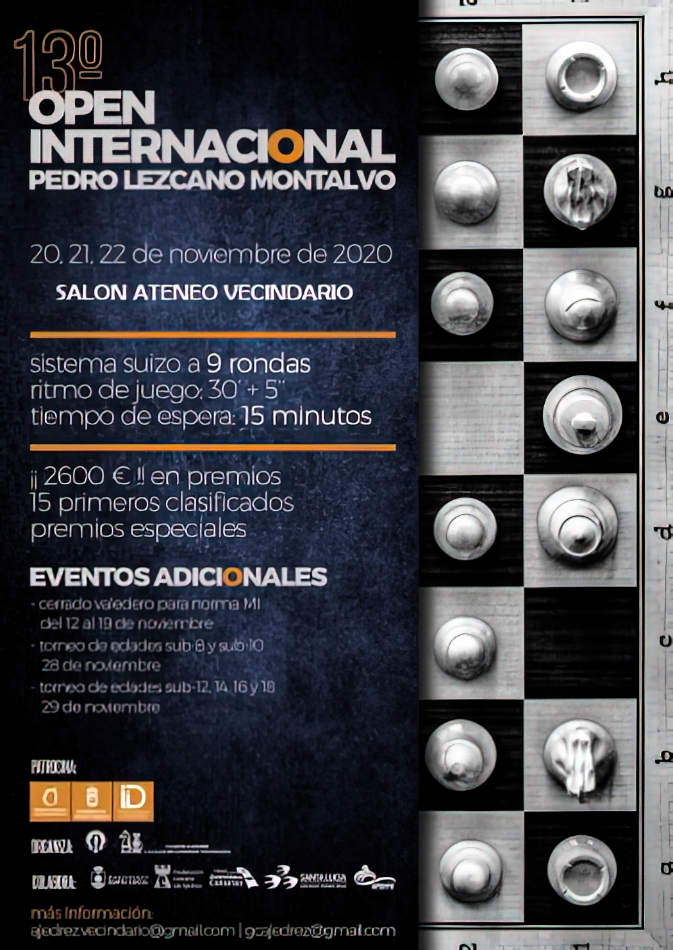 Torneo activo Pedro Lezcano Montalvo