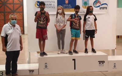 Final del Campeonato Insular Tercera Sub 8 y Sub 16
